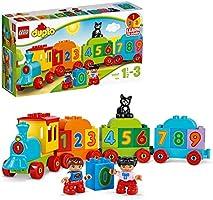 LEGO DUPLO IlTrenodeiNumeri, Set di Costruzioni Premiato con Grandi Mattoncini Numerati,Giocattoli Educativi per...