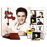エルビスプレスリーの引用, Elvis Presley Quotes, チョコレートギフトセット、13x13cm (Face)