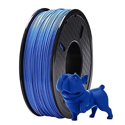 DOYOLLA PLA 3D Printer Printing Filament, 1.75 mm, Dimensional Accuracy +/- 0.02 mm, 1 kg Spool, Fit Most FDM Printer (Blue)