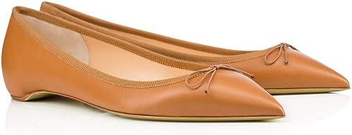 ZHAOYUNZHEN Chaussures Plates pour Femmes,B,42 Femmes,B,42  jusqu'à 60% de réduction
