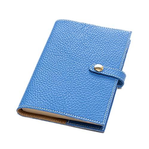 maf pinto (マフ ピント) 手帳カバー&ブックカバー レザー 本革 日本製 (57.フレッシュブルー, A6サイズ (文庫サイズ) ADRIA LINE)