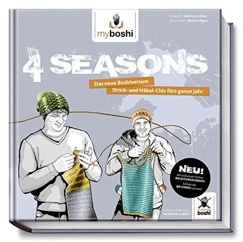 myboshi 4 Seasons: Jede Menge neue Mützen und andere coole Häkelideen für das ganze Jahr (myboshi / Häkelanleitungen)