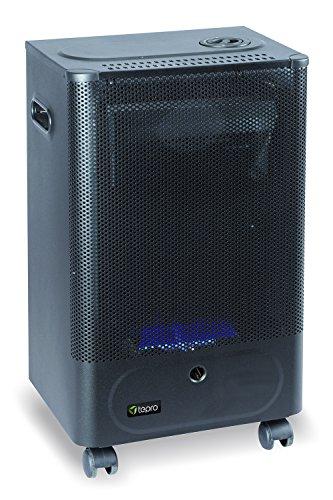 Tepro Mini Blueflame Gasheizgerät, 2 kW, Schwarz
