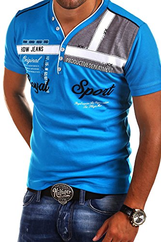 MT Styles 2in1 T-Shirt ROYAL R-2206 [Hellblau, XL]