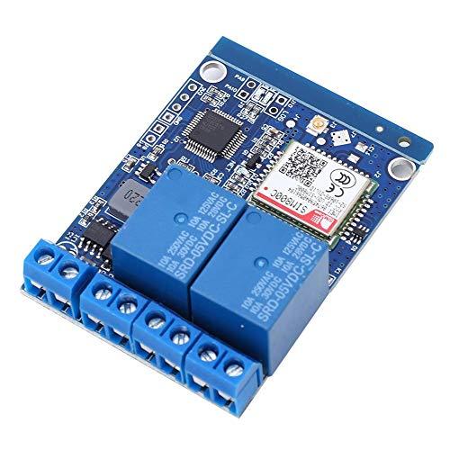 Teléfono móvil inteligente Interruptor de control remoto SMS profesional Módulo de interruptor de relé Alta sensibilidad para bomba de oxígeno para invernadero para hogar inteligente