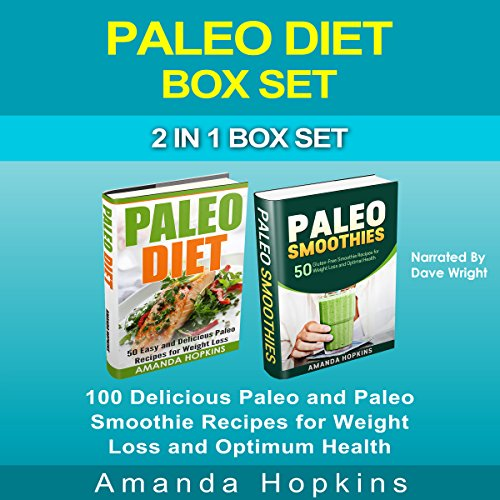 Paleo Diet Box Set audiobook cover art