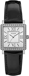 Guess Casual Watch Analog Display Quartz For Women W0829L3, Black Band