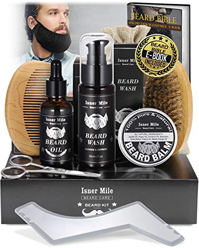 Upgraded Beard Kit for Men, Grooming & Trimming Tool...
