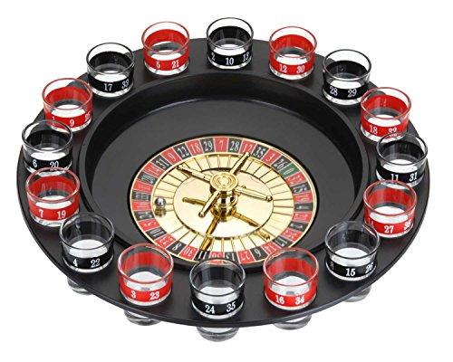made2trade Roulette - Trink Spiel | 30cm Durchmesser