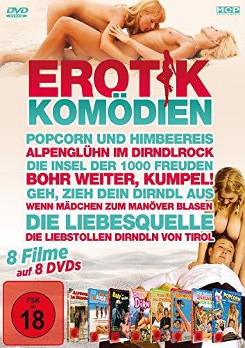 Erotikkomödien FSK 18 - 8 Filme auf 8 DVDs