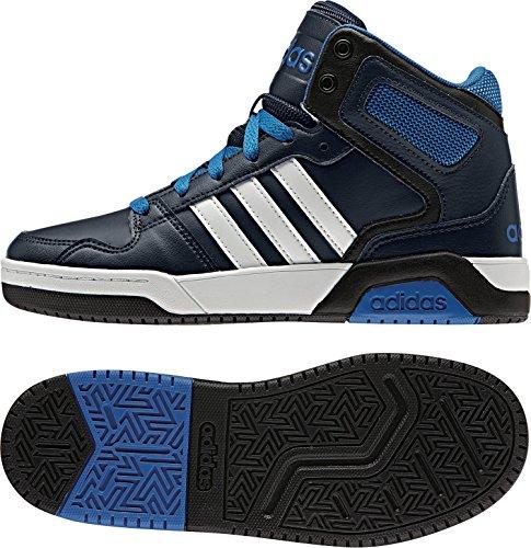 adidas Jungen BB9TIS K Fitnessschuhe, Blau (Maruni/Ftwbla/Blau), 38 2/3 EU