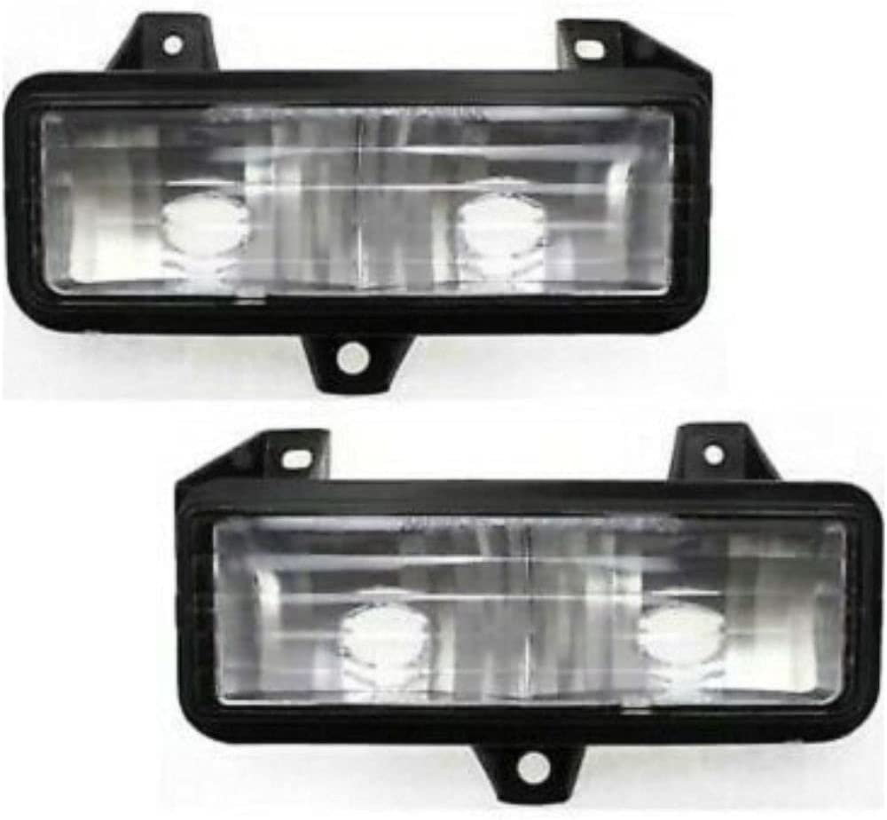 OLINDA Parking Max 65% OFF Light Compatible with Driver and Pa GMC Great interest Chevrolet