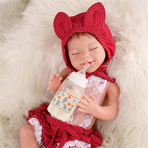 51cm Realista Reborn Baby Dolls encantador Realista de cuerpo completo Vinilo Silicona Niño Suave Muñecas Muñecas hechas a mano Bebés para mayores de 3 años Regalo de cumpleaños de Navidad para niños