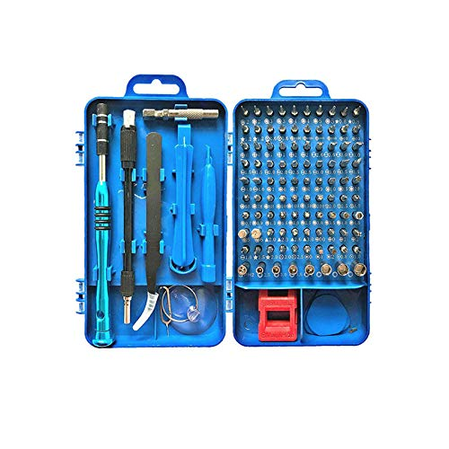 Set di cacciaviti di precisione, 112 in 1, kit di riparazione con custodia portatile, cacciavite magnetico per PC, computer, cellulare, tablet, elettr