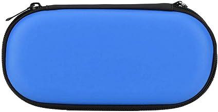 Bolsa à prova de choque, organizador portátil, estojo rígido, bolsa, para Sony PlayStation Vita para Sony PS Vita(azul)
