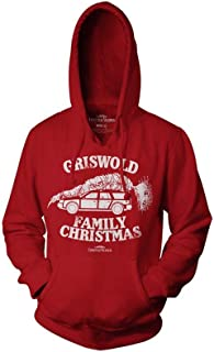 Ripple Junction National Lampoon's Christmas Vacation Adult Unisex Griswold Family Xmas Pull Over Fleece Hoodie