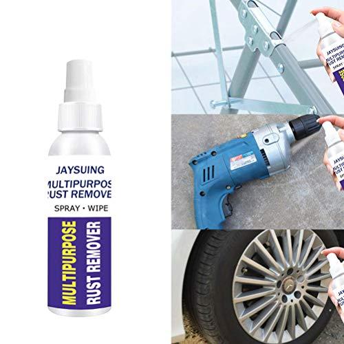 Kousa Spray removedor de óxido, 30 ml, multiusos, antioxidante, superficie de hierro, metal, bloqueador de corrosión, inhibidor de corrosión para mantenimiento del coche
