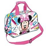 Minnie Mouse KM-37704 2018 Bolsa de Deporte, 40 cm, 1 litro, Multicolor