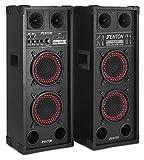 Skytec SPB Serie Lautsprecher für Karaoke PA (aktiv) 600W - 2 ripiani schwarz
