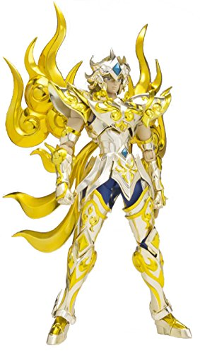 Figurine 'Saint Seiya' - Soul Of Gold - Leo Aiolia God Cloth - Jaune