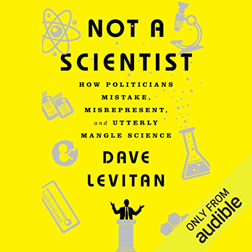 Not a Scientist audiobook cover art