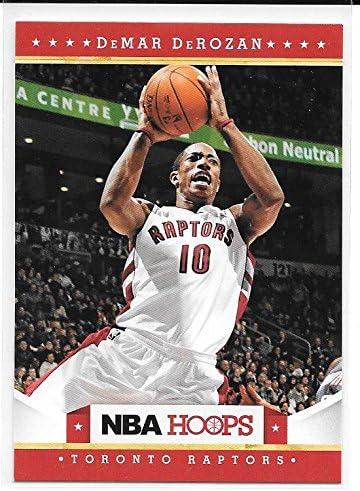 DeMar DeRozan 2012 13 NBA Hoops Toronto Raptors Card 31 product image