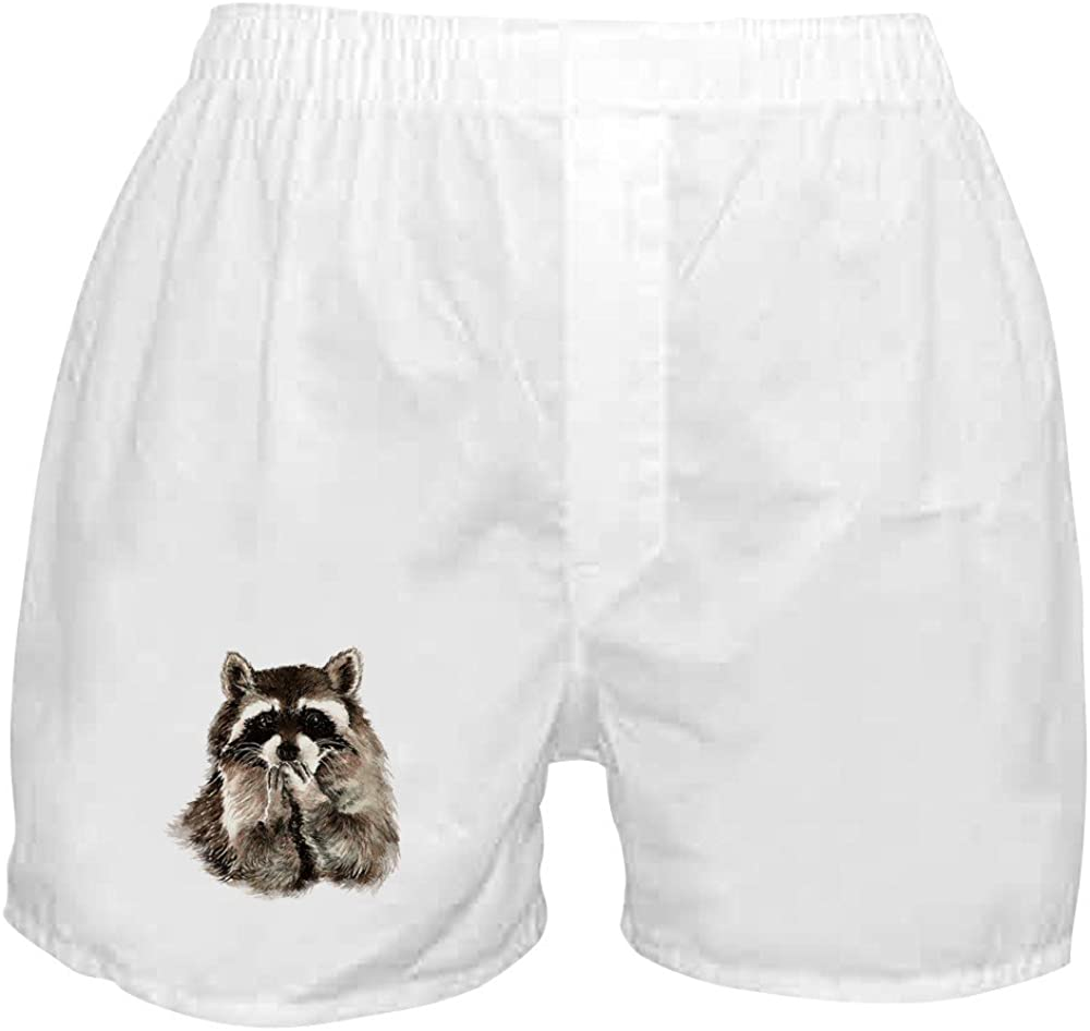 Outlet ☆ Free Shipping CafePress Cute Humorous Watercolor Boxer Raccoon Shorts Dallas Mall