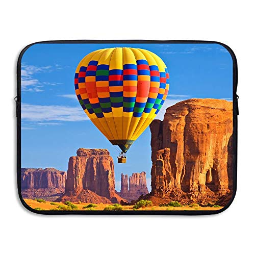 15 Inch Laptop Sleeve Water-Resistant Laptop Bags Canyon Hot Air Balloons Briefcase Sleeve Case Bags