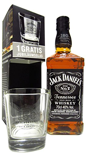 Jack Daniels - Old No. 7 150th Anniversary & Tumbler - Whisky