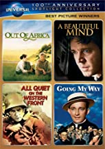 Best Picture Winners Spotlight Collection [Out of Africa, A Beautiful Mind, All Quiet on the Western Front, Going My Way] ...
