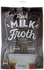 72 Count Real Milk Froth for your flavia brewer (Formerly Fabulous Froth Original) Indulge yourself with a perfect Latte or Cappuccino without leaving your home or office; just add your coffee / tea of choice and a packet of Real Milk NEW and improve...