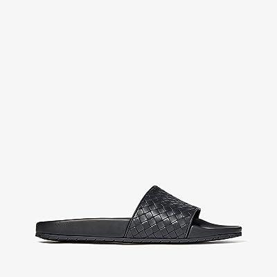 Bottega Veneta Speedster Slide Sandal (Black) Men