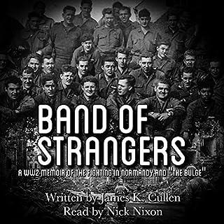 Band of Strangers audiobook cover art