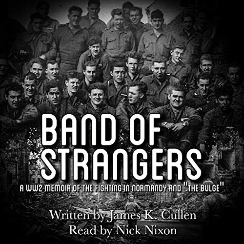 Band of Strangers audiobook cover art