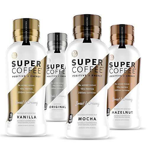 SUNNIVA Super Coffee 12 Variety Pack NEW Sugar-Free Formula, 10g...