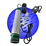 Green Blob Outdoors Jumbo 30000 Lumens 600 LED Underwater Fishing Light 110 Volt AC 3 Prong Plug Includes Timer w Photocel 30ft Power Cord (Choice of Green, Blue, or White) (Blue)