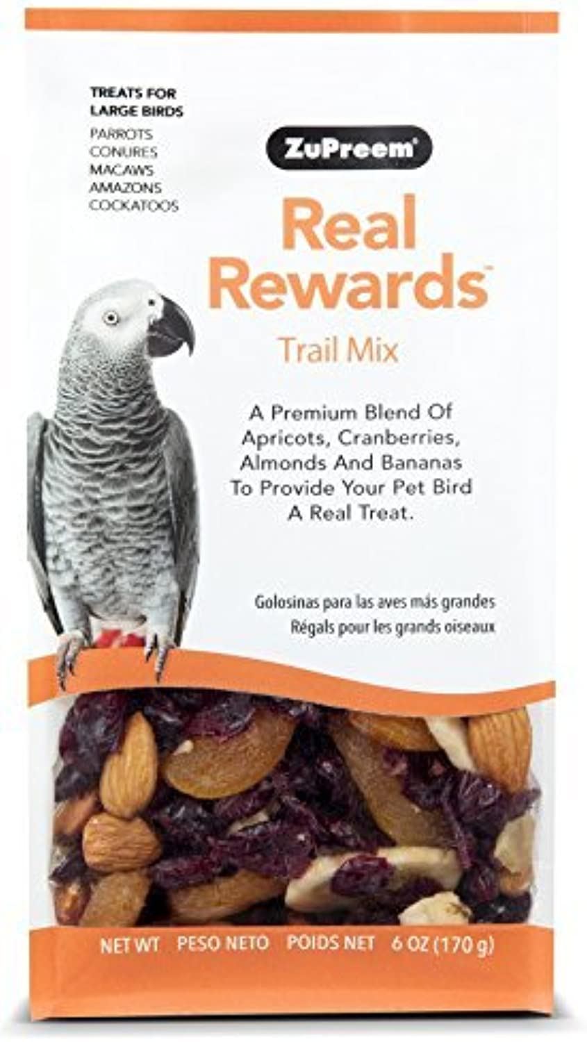 Real Rewards Trail Mix Large Bird Treats by ZuPreem