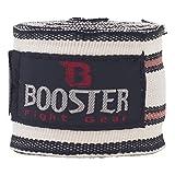 Booster Bandagen, Retro, grau, halbelastisch, 4.6 m, Hand Wraps, Wickelbandagen