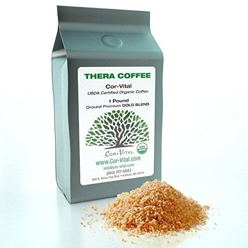 Cor-Vital Lo Real tratar ENEMA de café mejor para DETOX - bolsa de 1lb (453,592 g)