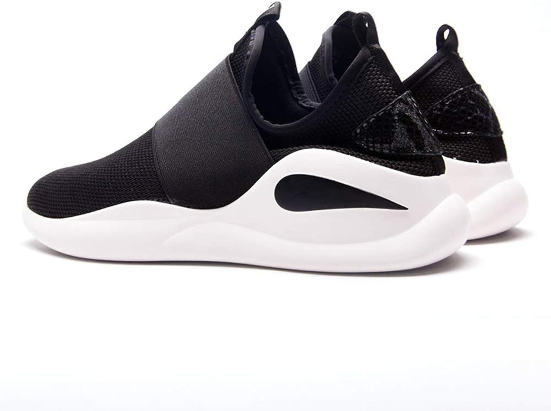 Men's Walking shoes Tennis shoes Casual shoes Black Sports shoes Men's shoes (Black) @Y.T,8.5