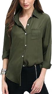 Amazon.es: camisa militar mujer Verde