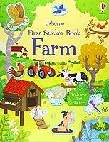 First Sticker Book Farm (First Sticker Books)