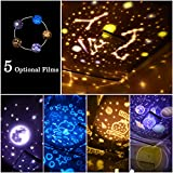 Immagine 1 lampada proiettore stelle luce notturna