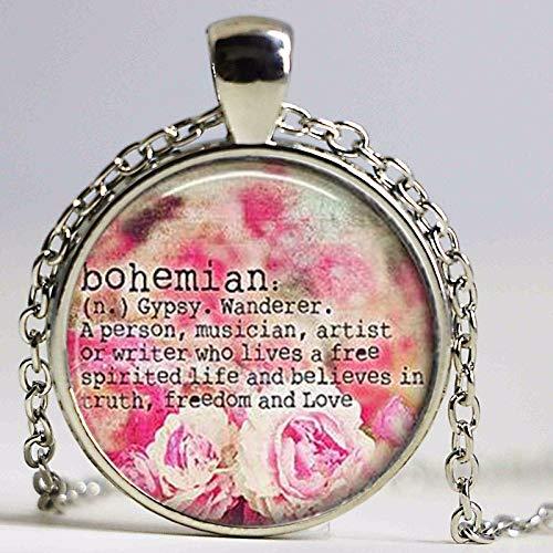 Boho Schmuck, Boho Halskette, Bohemian Halskette, Bohemian Schmuck, Bohemian Definition Halskette, Zigeunerschmuck