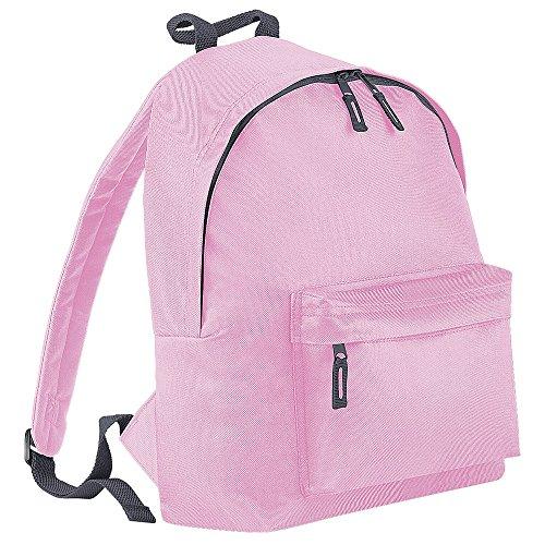 Bag Base - Sac à Dos Unisexe BG125CPGP Original et Tendance - Rose (Rose Classique/Gris Graphite) - Taille Unique