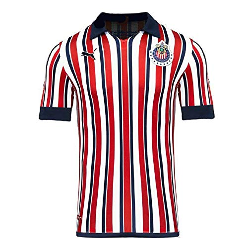 PUMA Mens Chivas Licensed Replica Jersey 2018-2019, Small, Tournament