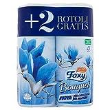 Foxy Bouquet Rotoli Carta Igienica, Colori Assortiti, 6 Pezzi