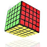 TOYESS Zauberwürfel 5x5, Speed Cube 5x5 Puzzle Würfel Spielzeug Schwarz
