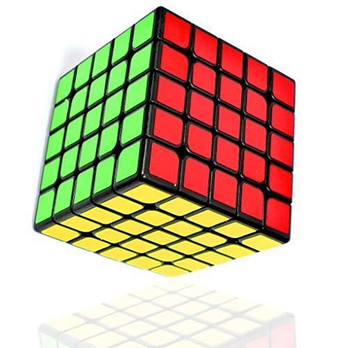 TOYESS Cubo Mágico ,Speed Cube 5x5x5 Rompecabezas Cubo de Velocidad Regalo de Adulto para Niños,Negro