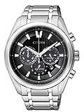 Citizen Herren Chronograph Quarz Uhr mit Titan Armband CA4010-58E